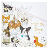 Cats & Dogs Coloring Book